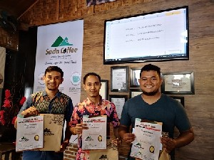 Donny Juarai Sada Coffee Champion