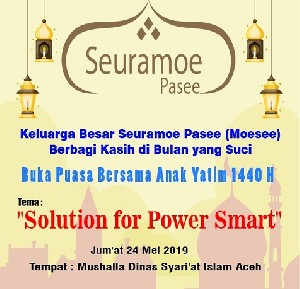 "MOESEE ""Solution for Power Smart"" Bersama Yatim Berbagi Kasih"