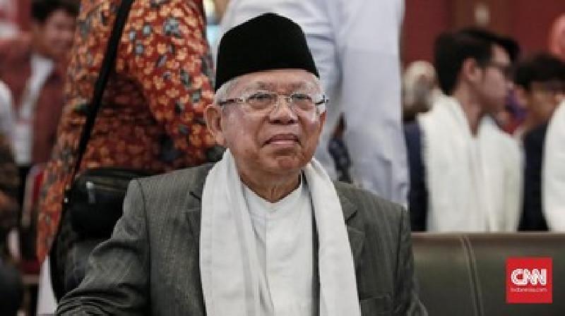 Jelang Ramadhan, Wapres Ma'ruf Amin Minta Acara TV Diisi Oleh Dai Berserikat