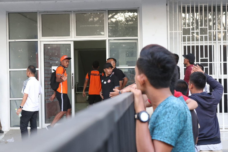 Pembukaan Liga 1 Persiraja VS Bhayangkara FC, Suporter Mulai Padati Stadion
