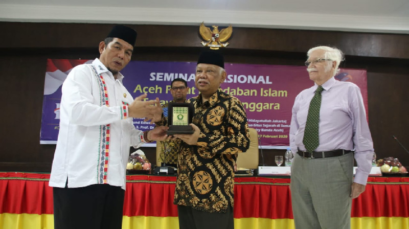 Jelang Kenduri Kebangsaan Bersama Presiden Jokowi, UIN Ar-Raniry Gelar Seminar Nasional