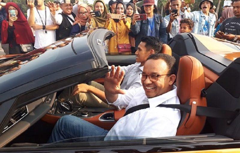 Anies Baswedan Dikritik Megawati Soal Formula E Rusak Cagar Budaya Monas, Ini Jawabannya