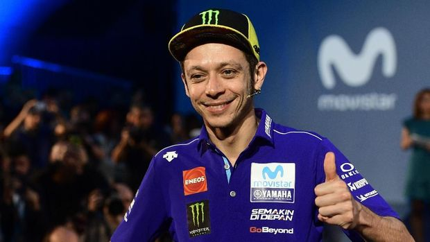 Jelang MotoGP 2020, Rossi Akui Mulai Stres