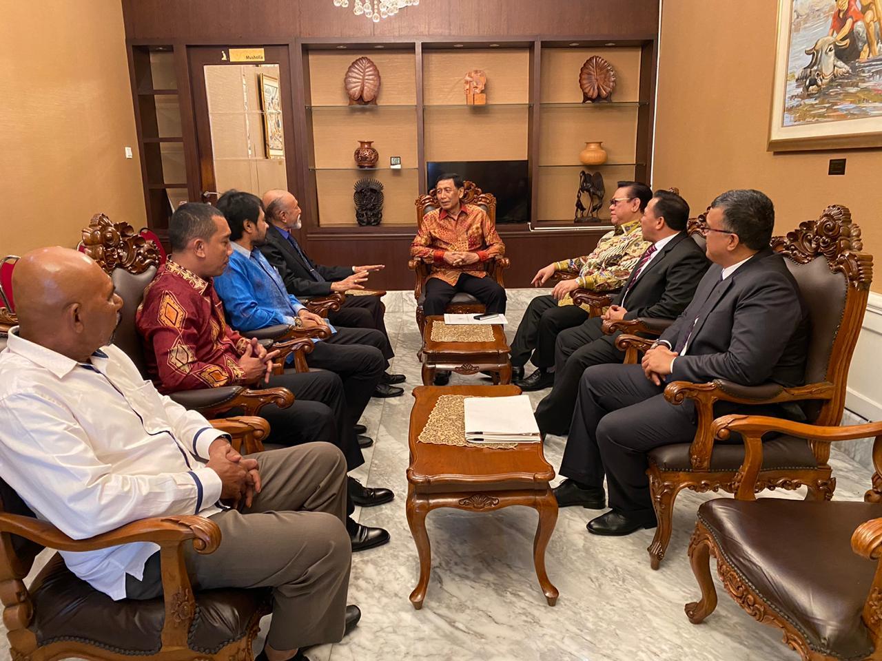 Bendera dan Lambang Aceh Masih Bermasalah, Wali Nanggroe Temui Presiden Jokowi