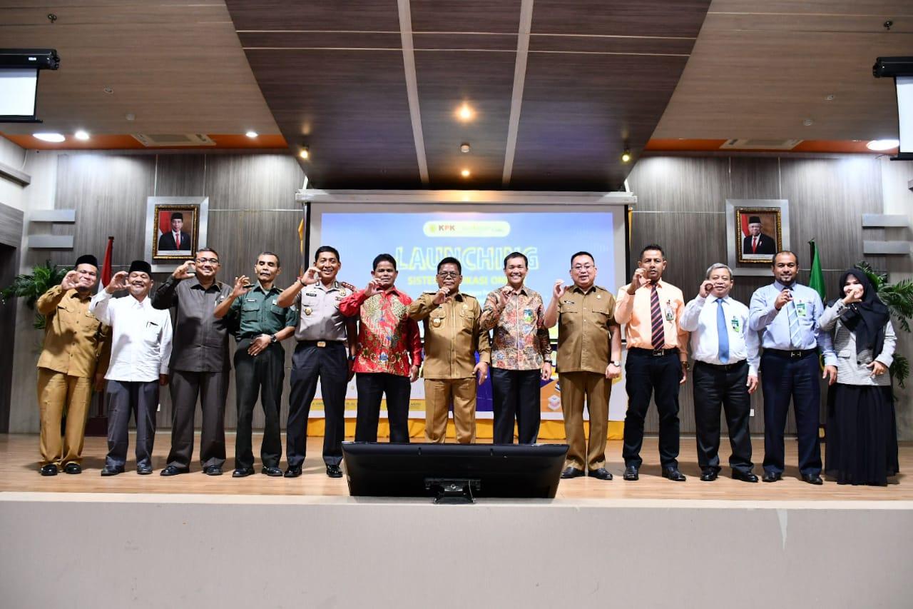 Wali Kota Launching Aplikasi Online Tapping Box
