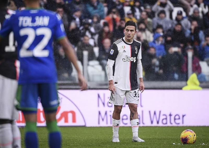 Penyerang Juventus Dybala Positif Corona