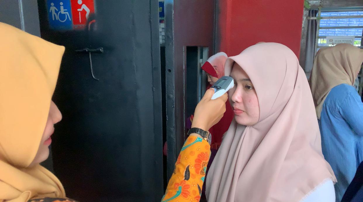 Tanggulangi Penyebaran Virus Covid-19, Lapas di Aceh Batasi Jam Kunjungan Masyarakat