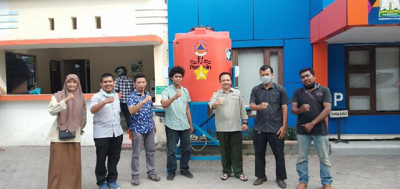 BPBA, UKM-PA Leuser dan Lab Teknik Mesin Unsyiah Produksi Wastafel Portable, Bantu Cegah COVID-19