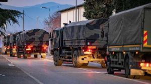 Lawan Virus Corona, Italia Kerahkan Militer Untuk Bantu Lockdown