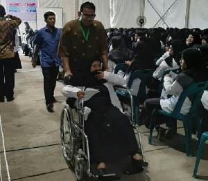 Panitia Tes CPNS Kemenag Aceh Sediakan Fasilitas Bagi Peserta Berkebutuhan Khusus