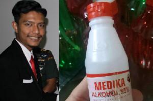 Bantu Pemerintah, Mahasiswa Aceh Sumbang Bahan Baku Hand Sanitizer