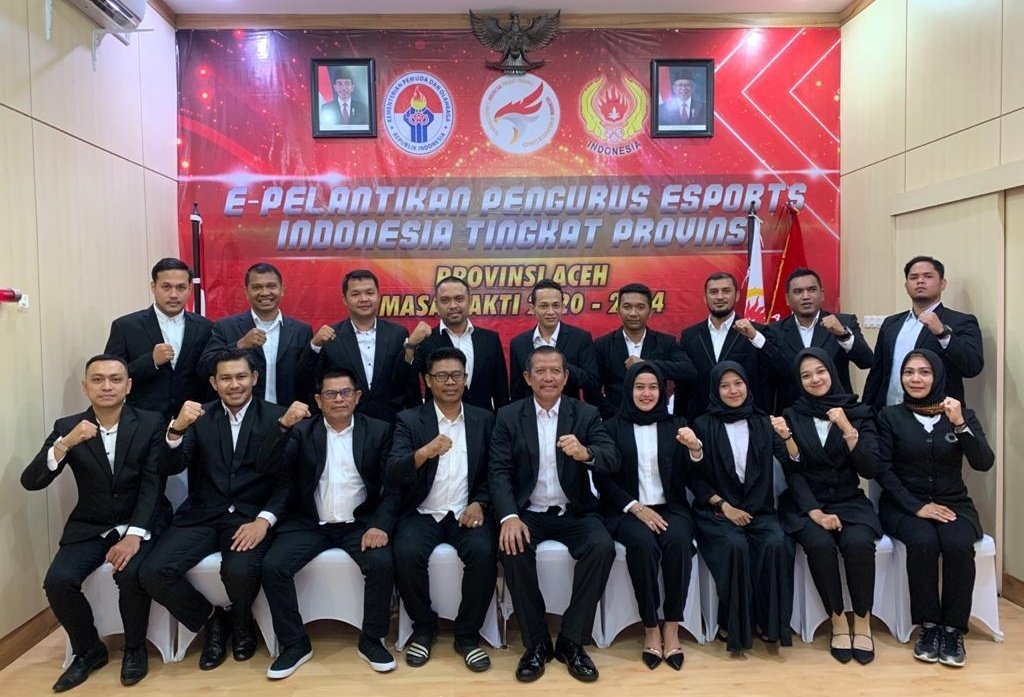 Pengurus ESI Aceh Dilantik, Muhammad Abduh: Tahun Fokus Cari Atlet