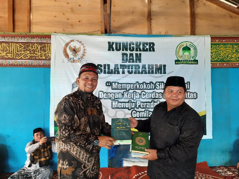 Senator Fadhil Rahmi Diminta Fasilitasi Teungku Dayah di Aceh Tengah