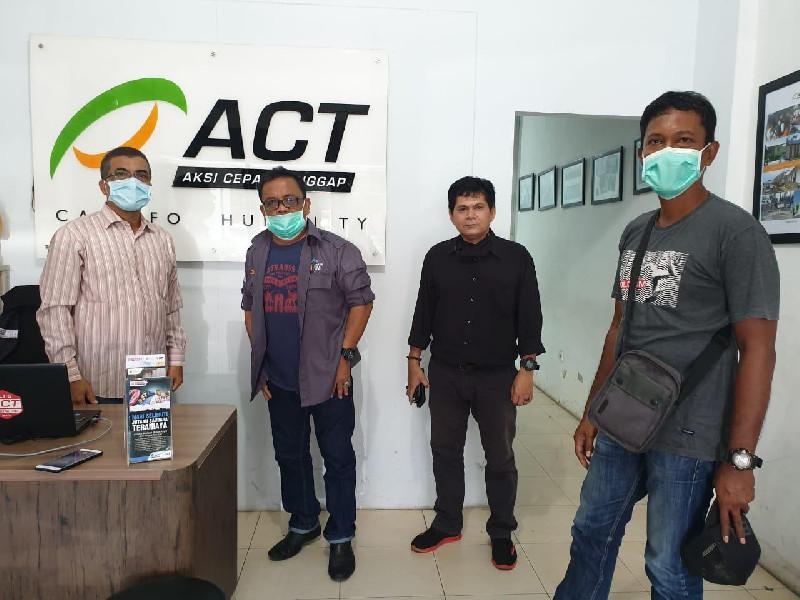 ACT dan Forum PRB Aceh Siapkan Skenario Aksi Penggalangan Dana Penanganan Imbas Covid-19