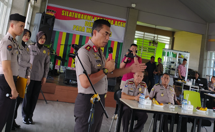 Kapolda Wahyu Widada Ajak Media Membangun Aceh dengan Narasi Positif