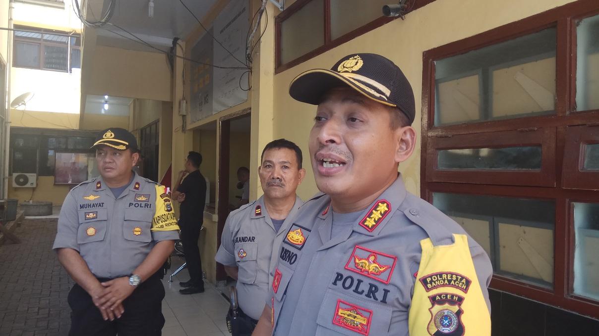 Jika Lockdown, Ini Empat Langkah Polresta Banda Aceh Untuk Penjagaan