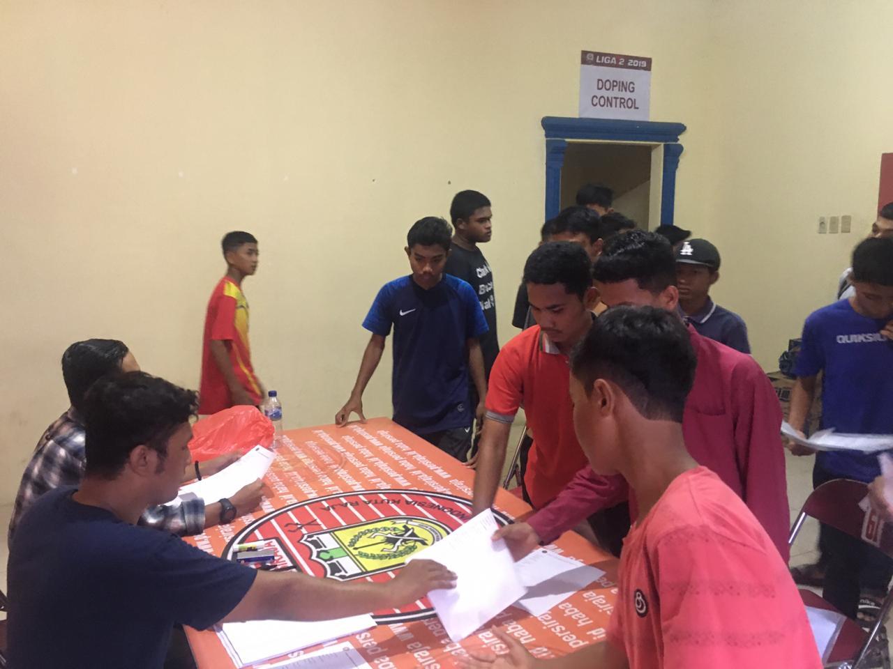Ratusan Peserta Antusias Ikuti Seleksi Tim Persiraja Banda Aceh U-16 dan U-18