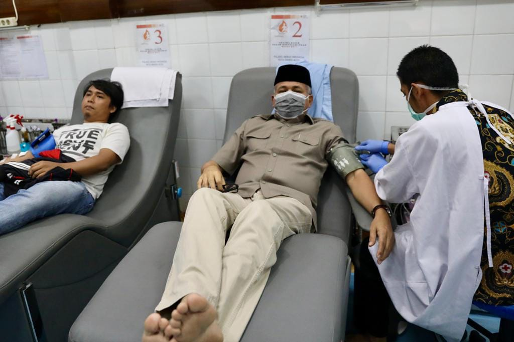 Dampak Corona Persediaan Menipis, Plt Gubernur Aceh Ajak Masyarakat Donor Darah