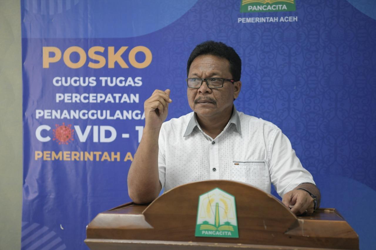 Perkembangan Covid-19 di Aceh, Ini Updatenya