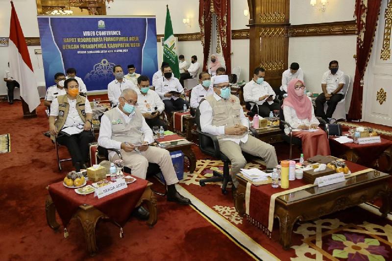 Plt Gubernur Aceh Instruksikan Bupati-Walikota Imbau Warga dan ASN Tak Mudik