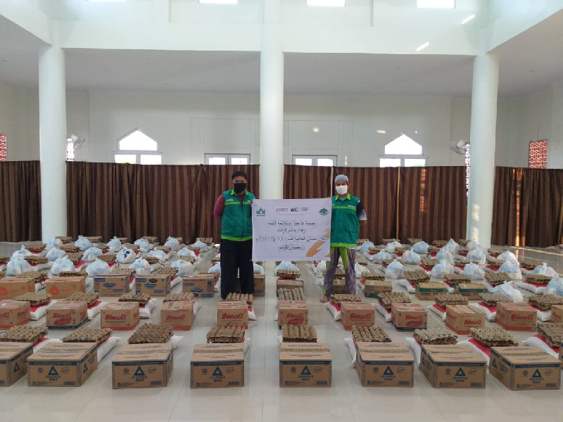Peduli Da'i dan Dhuafa, WIZ Aceh dan BKM Mushalla Jami' Al Wafa' Bagikan Bingkisan Ramadan