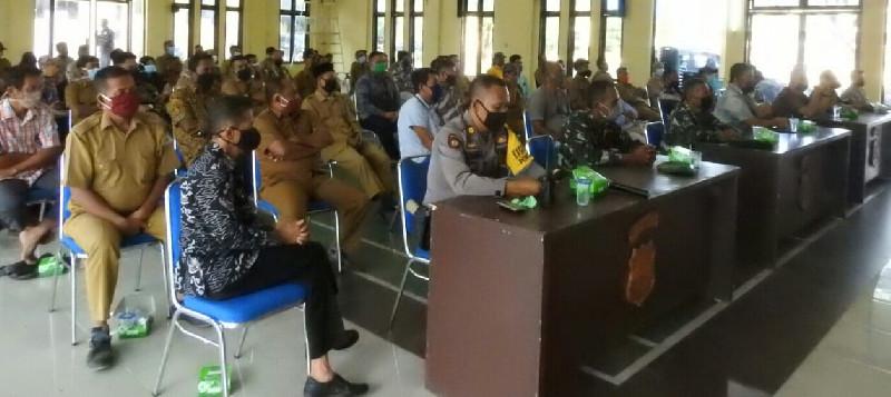 Cegah Sebaran Covid-19, Seluruh Datok Penghulu di Tamiang Dikumpulkan