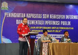 Diskominfo Aceh Latih SDM Kearsipan Informasi Publik