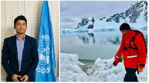 Agus Wandi Aktivis Aceh Penakluk Antartika