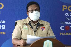 Update Covid-19 Aceh, ODP 1.282, PDP 57 Kasus, 1 Positif Masih Penanganan Medis