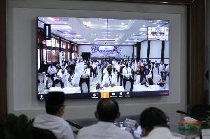 Plt Gubernur Pimpin Musrenbang 2021, via Konferensi Video