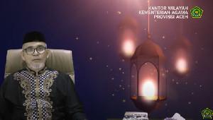 Selama Ramadan Kemenag Aceh Gelar Sosialisasi Melalui YouTube