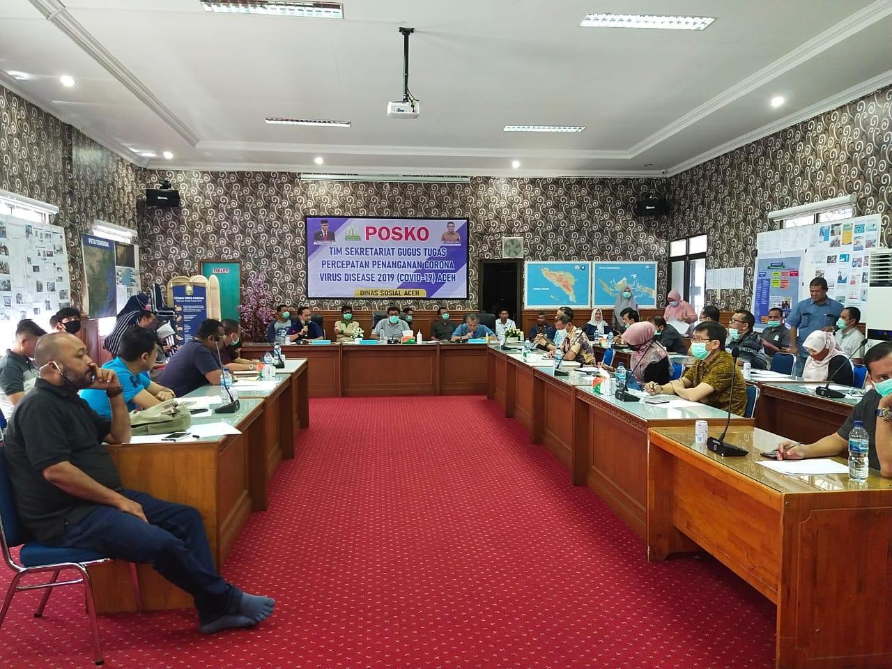 Wabah Corona, 61 Ribu Kepala Keluarga di Aceh Akan Terima Bantuan Sembako