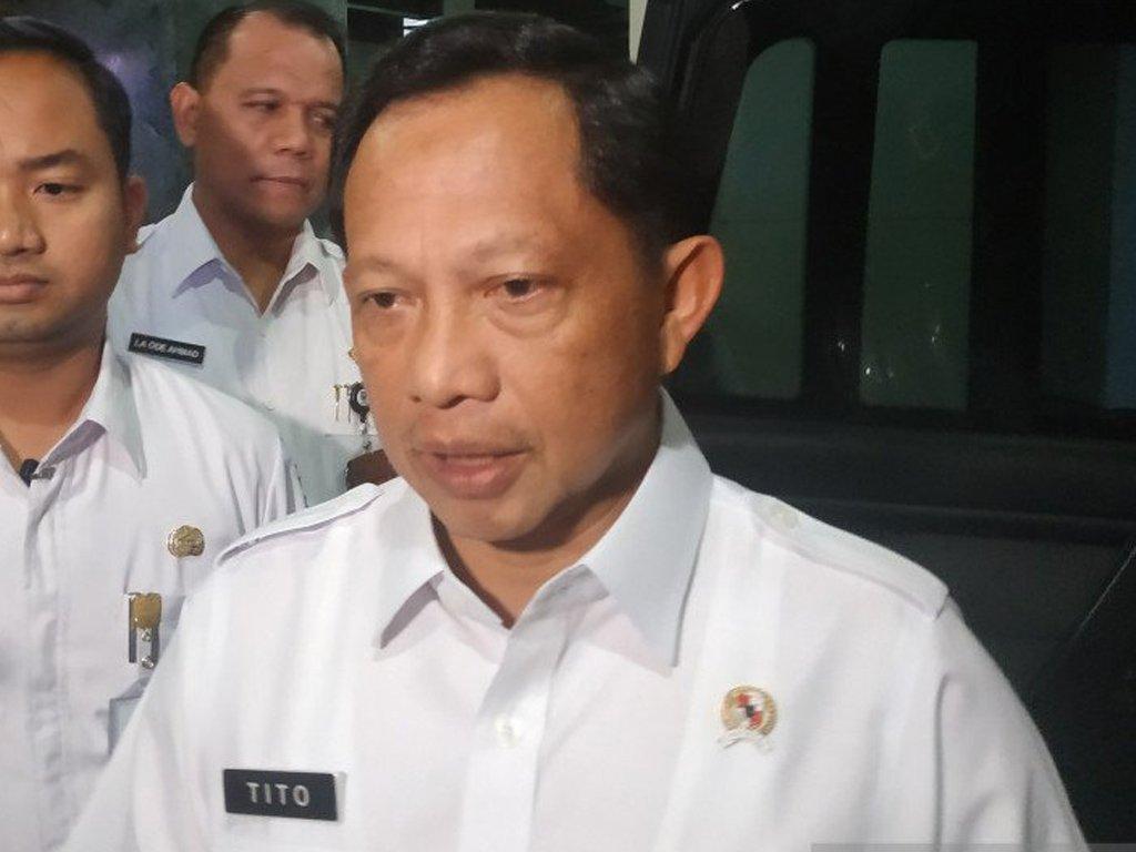 Mendagri Tito Bentuk Gugus Tugas Covid-19 di Perbatasan