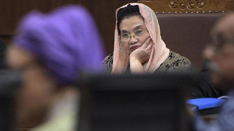 Mantan Menkes Siti Fadilah Surati Jokowi soal Corona dari Rutan
