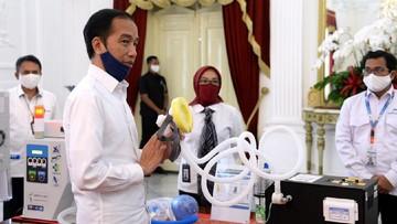Jokowi Pamer 'Senjata Perang' RI Lawan Covid-19