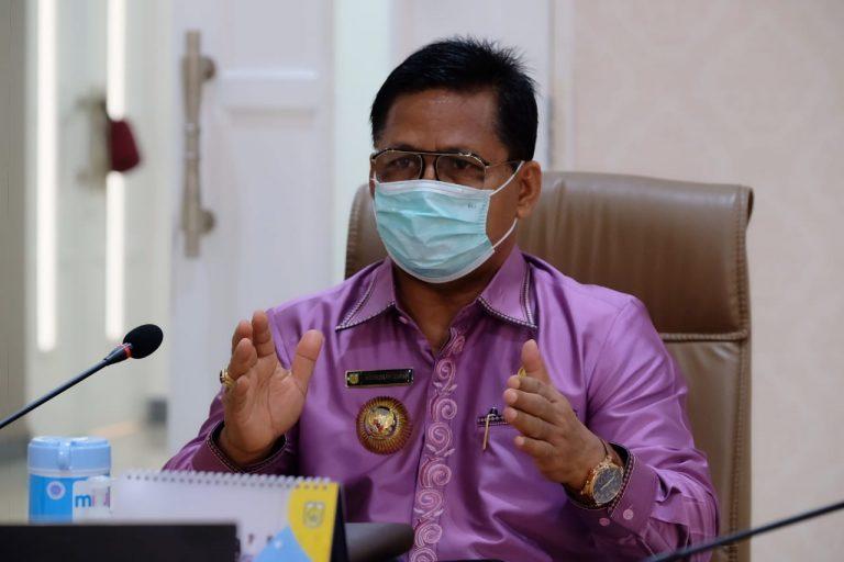 Tim Siaga Covid-19 Banda Aceh Disinfeksi Area Lokasi Rumah Pasien Positif Corona