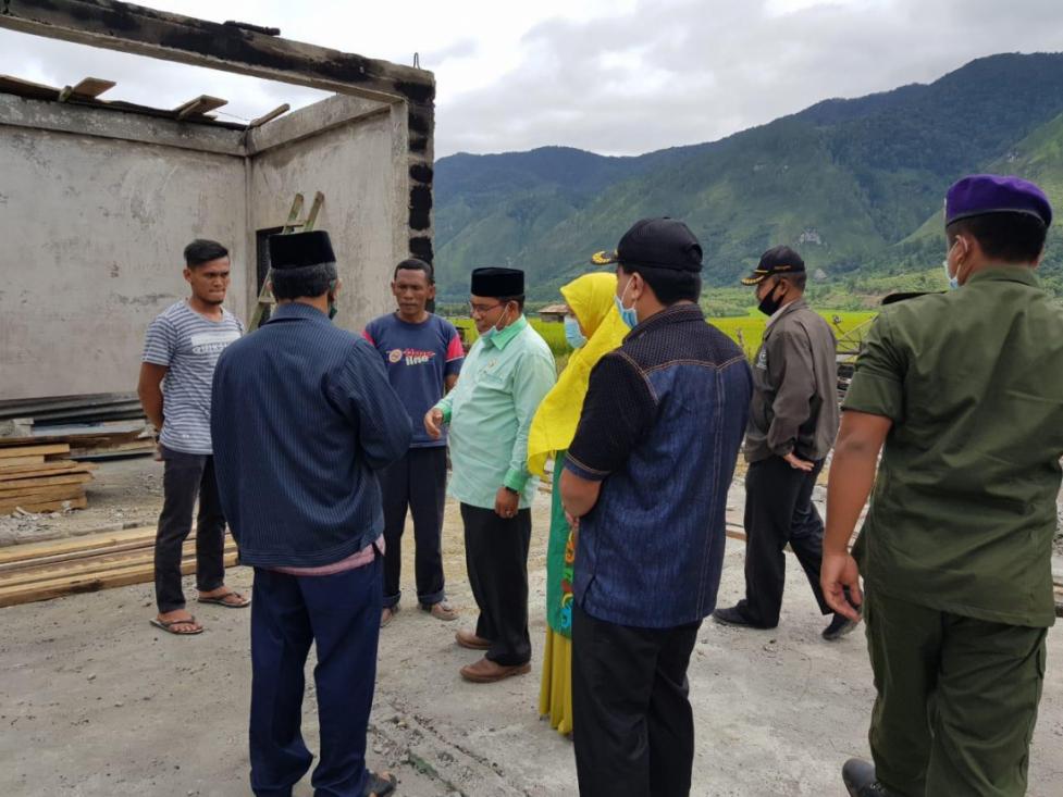 IAIN Takengon Bantu Korban Banjir dan Kebakaran Aceh Tengah