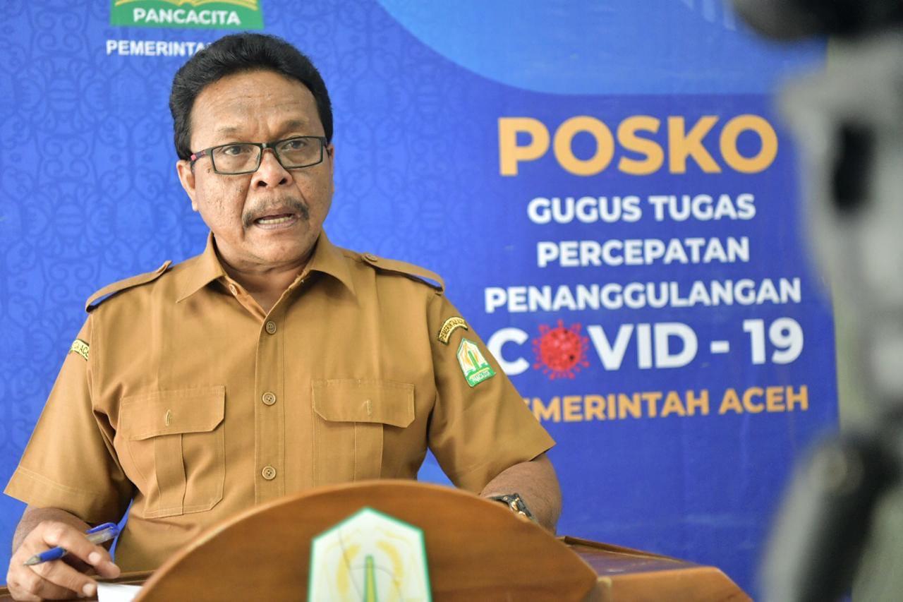 Update Covid-19 di Aceh Hari Ini, ODP Bertambah 8 Orang