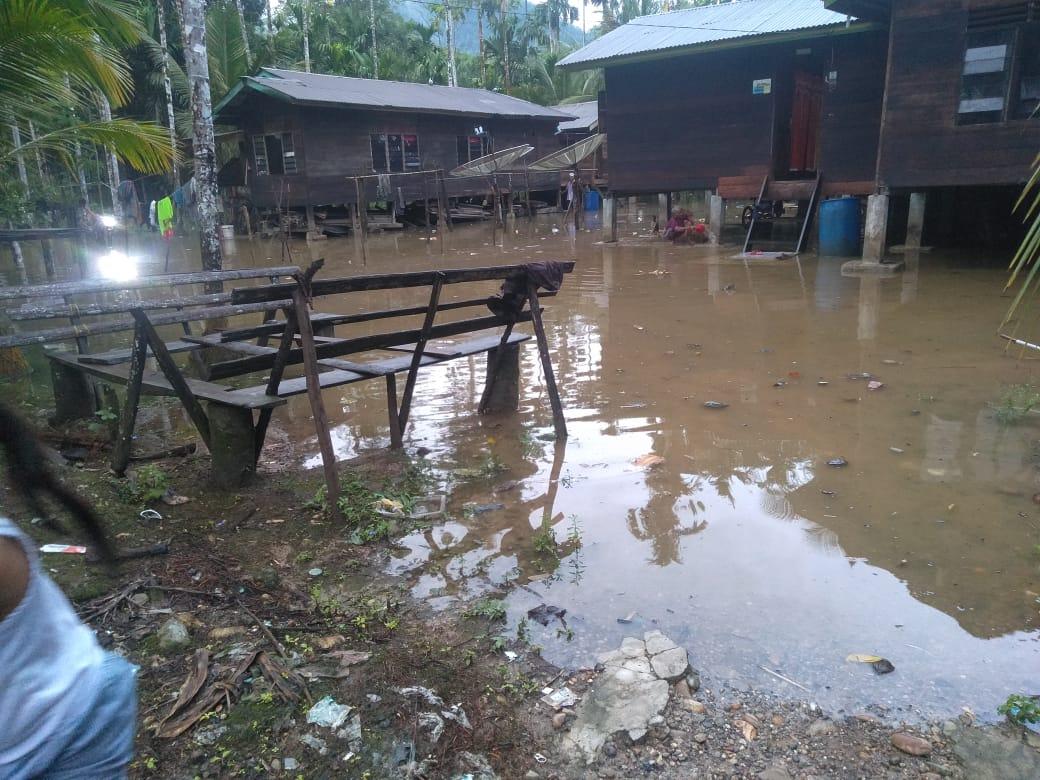 Intensitas Hujan Meningkat, Dua Desa di Aceh Timur Direndam Banjir