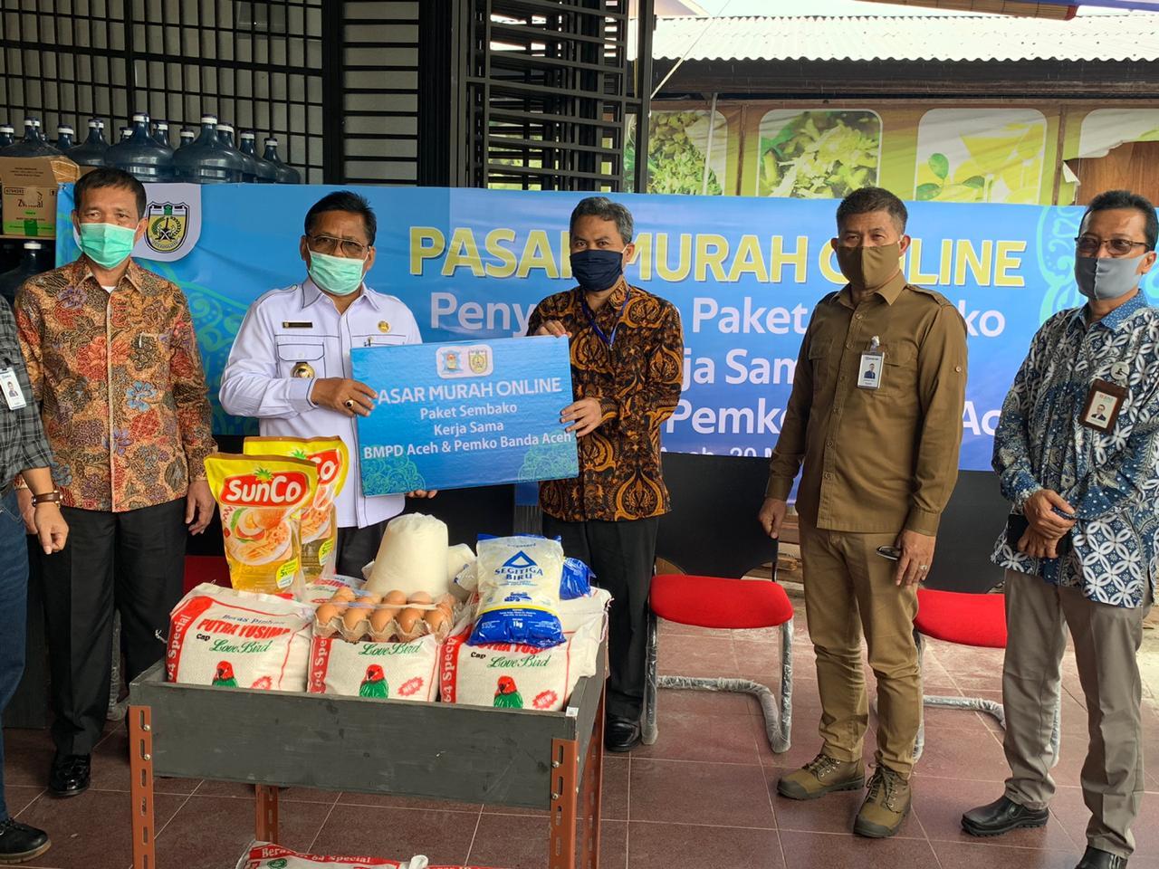 Gandeng BMPD, Wali Kota Buka Pasar Murah Online Tahap III