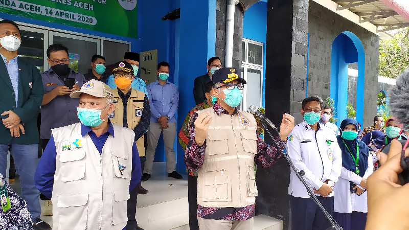 80 Cairan Reagen untuk Tes Swab Sudah Tiba di Aceh