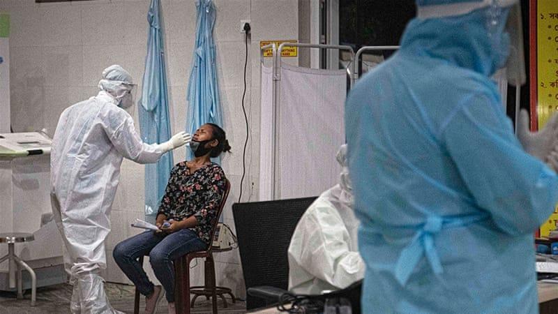 Rumah Sakit India Kewalahan