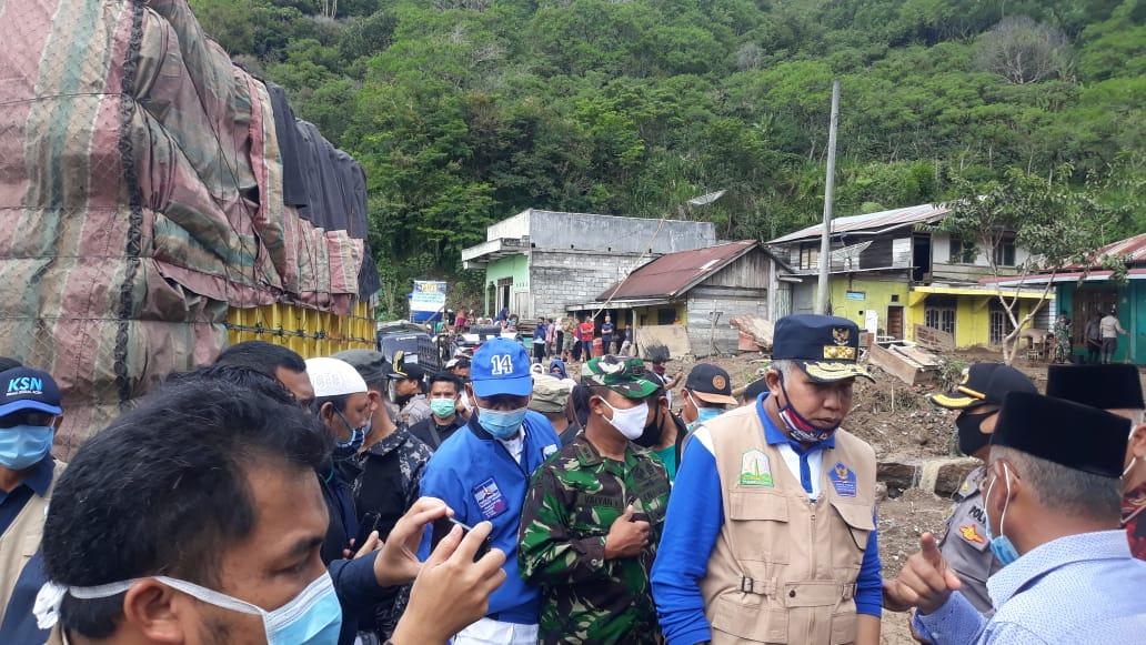 Kunjungi Titik Banjir Bandang, Plt Gubernur Aceh: Penanganan Dilakukan Terpadu