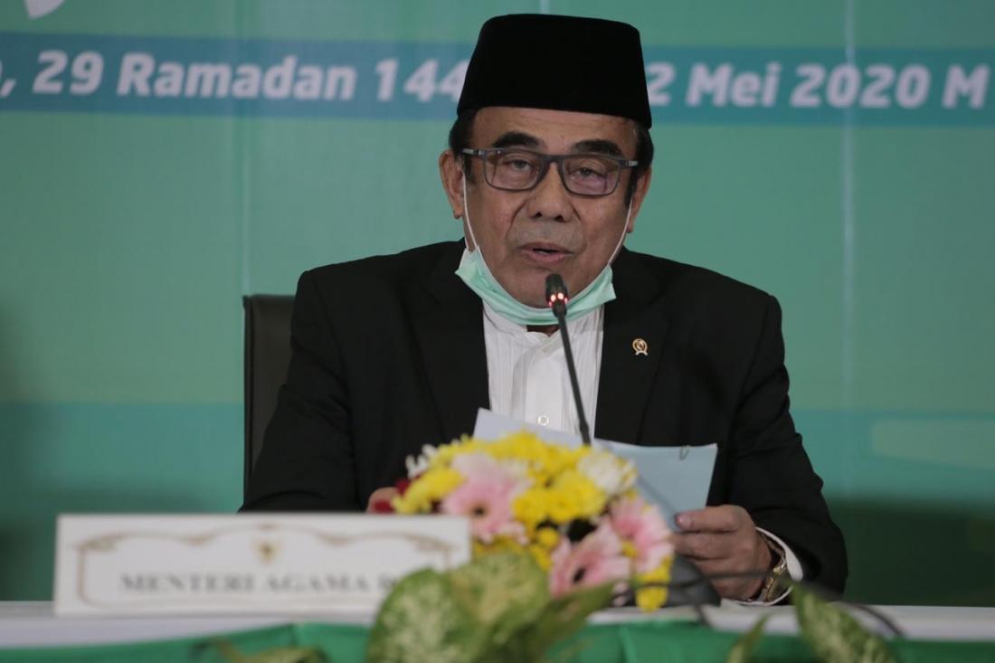 Pemerintah Tetapkan Idul Fitri 1441 H Minggu 24 Mei 2020