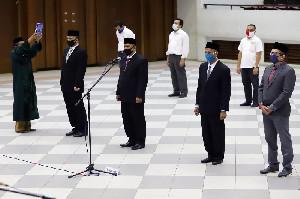 Wakil Rektor Lantik Empat Kepala UPT Baru Unsyiah