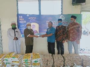 Pandemi Covid-19, PW HUDA Banda Aceh Salurkan Bantuan Sembako dan Masker ke Masyarakat