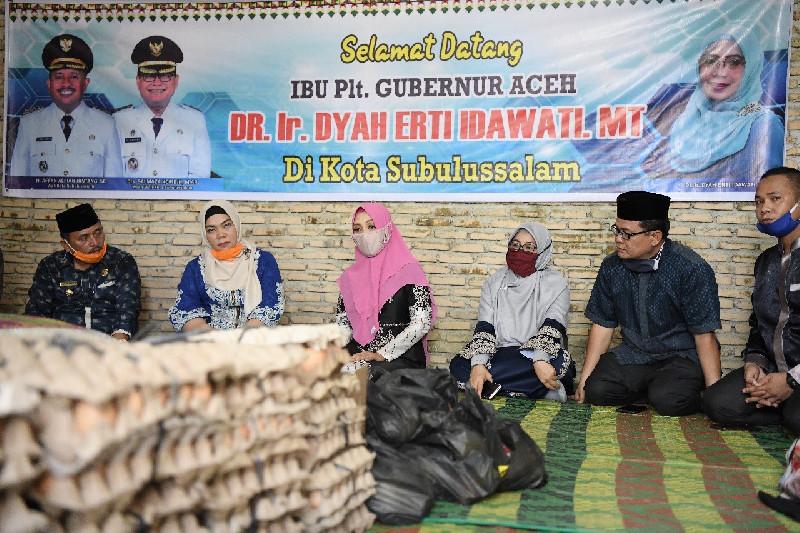 Dyah Apresiasi Keberadaan Mualaf Center di Subulussalam