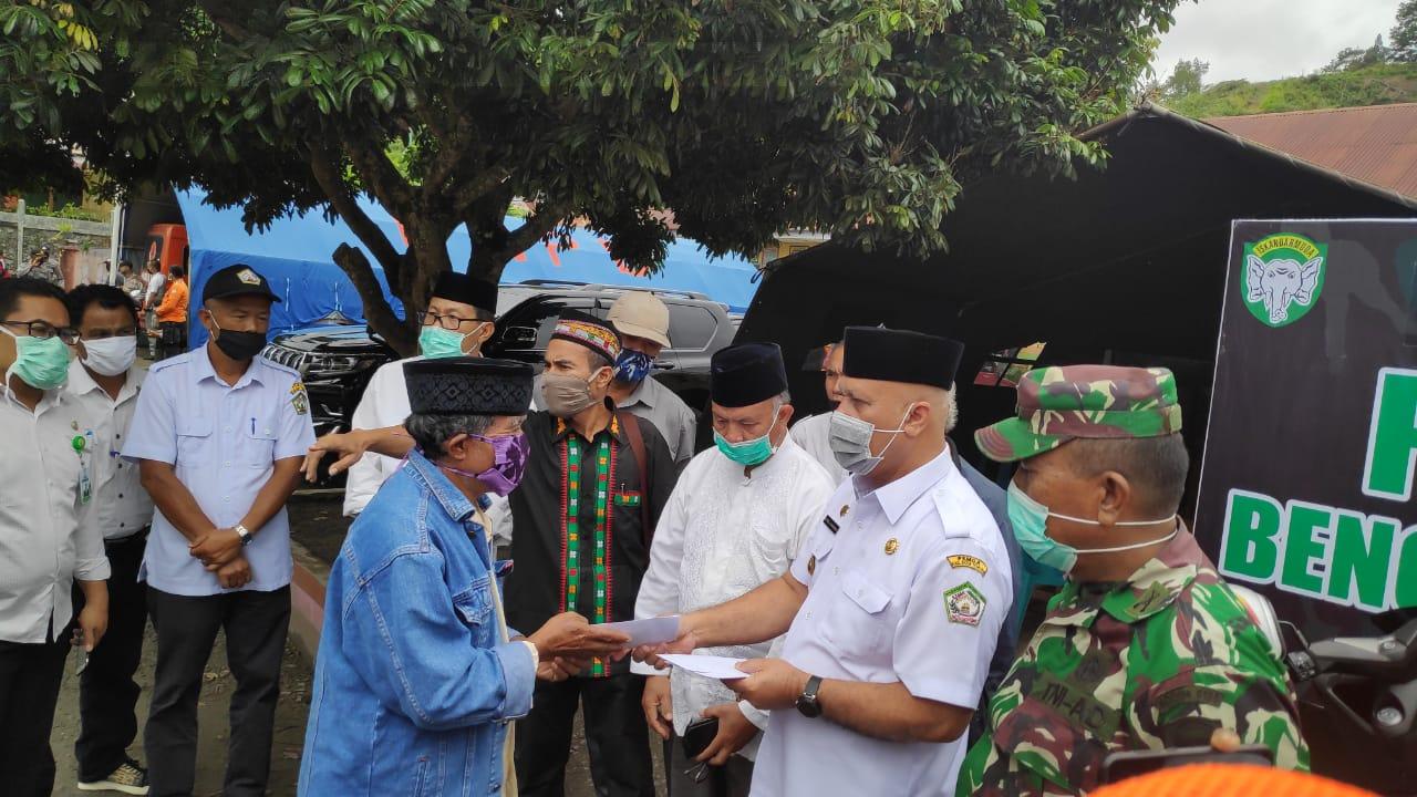 Musara Gayo dan PP TIM Jakarta Serahkan Bantuan Banjir dan Kebakaran Aceh Tengah