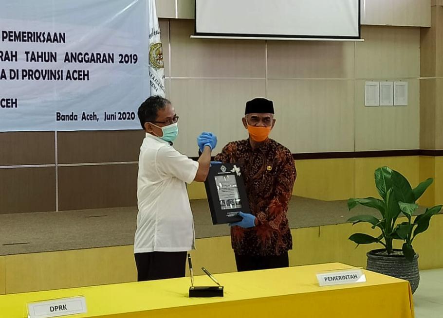 Pimpin Aceh Utara Dua Periode, Cek Mad Berhasil Kembali Raih WTP 5 Kali Berturut-turut