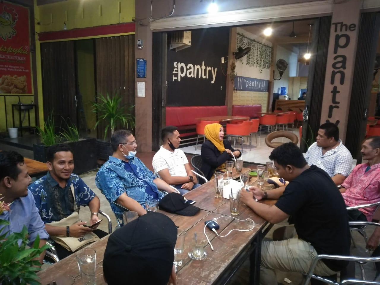 IKAL Provinsi Aceh Jalin Silaturahmi dengan Wartawan